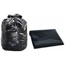 Saco para lixo médio 40litros 65x70 Preto  c/50
