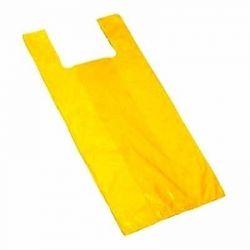Sacola plastica média 38x48 Amarela c/2,5KG