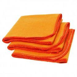 Flanela laranja G 38x58 Tacefio c/10