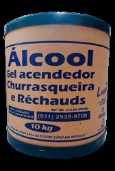 Álcool Gel acendedor 10KG Luar Barrica